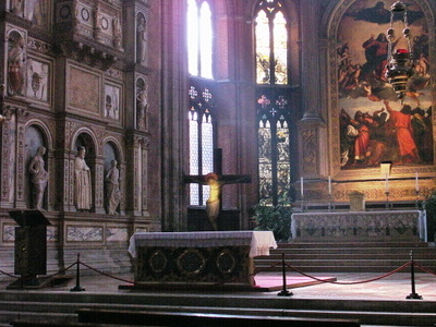 High Altar Showing Titian's Assumption