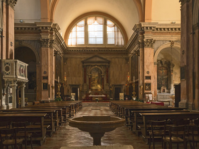 Interior Of San Trovaso