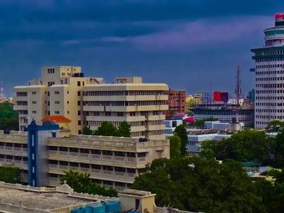 Skyline Near Gandhi Maidan