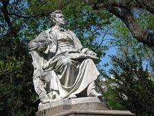 Closeup Of Franz Schubert Statue