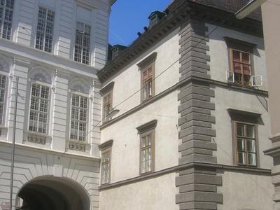 Stallburg From Josefsplatz