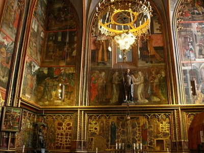 St. Wenceslas Chapel In St. Vitus Cathedral