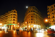 Talaat Harb At Night By Tinou Bao