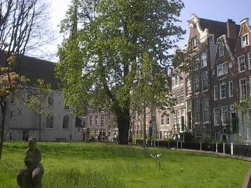 The Begijnhof With The English Reformed Church
