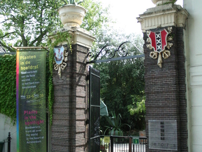 The Hortus Botanicus Entrance