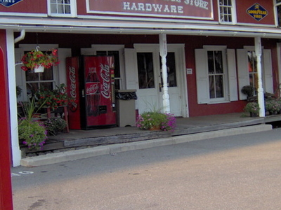 The  Old  Village  Store  Hardware And Fuel Pumps