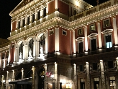 The Musikverein At Night