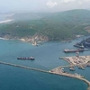 Vizag Seaport Aerial View