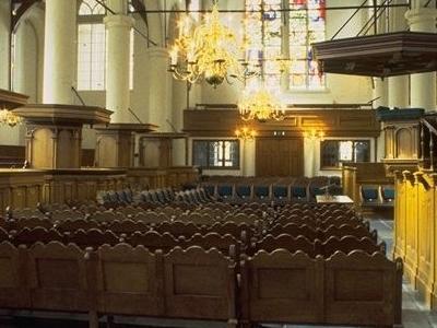 Interior Of The Walloon Church