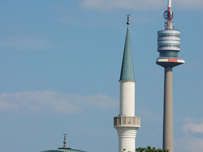 Minaret Of Vienna Islamic Centre