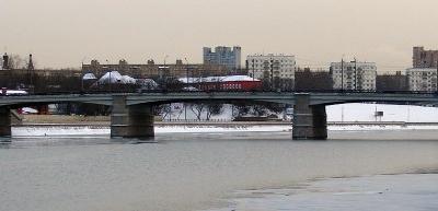 Another View Of Novospassky Bridge