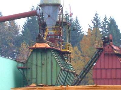 Wood Mill In  Boring