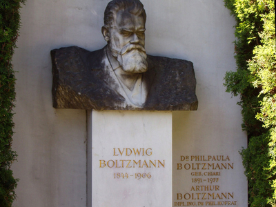 Ludwig Boltzmann's Grave