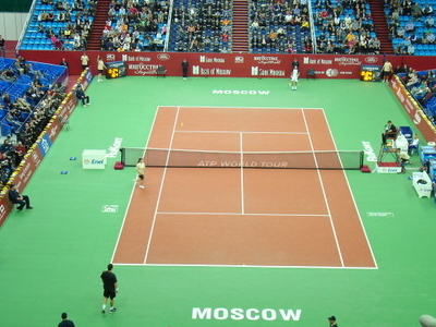 Central Court Of The Kremlin Cup In The Olympic Stadium
