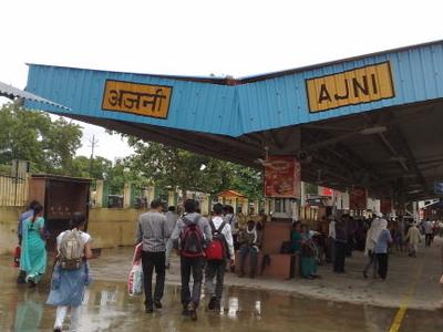 Ajni  Station Roof