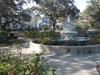 A Fountain In The Center Of Allan Park