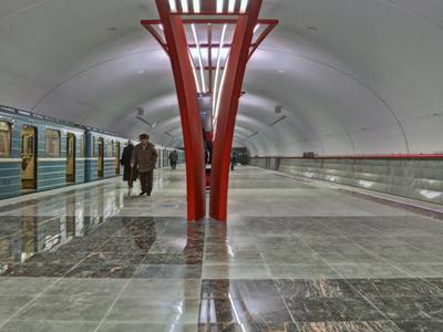 Alma-Atinskaya Metro Station