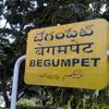 Begumpet Railway Station Stationboard