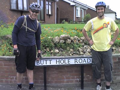 Butt  Hole  Road Tourists