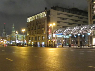 Tverskaya Street In The 21st Century