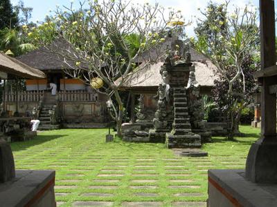 Courtyard Of Penataran Sasih