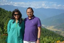 Mr. & Mrs. Sahu From Pune, India