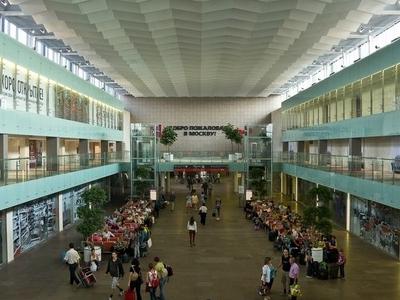 Inside The Leningradsky Railway Station