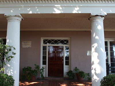 Edmondston-Alston House Entrance