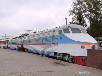 ER200-105 At The Moscow Railway Museum, Rizhsky Station