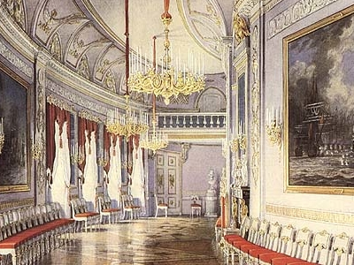 Gatchina Palace - Chesma Gallery For Grand-Duke Paul