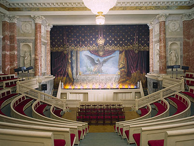 Interior Of The Hermitage Theatre