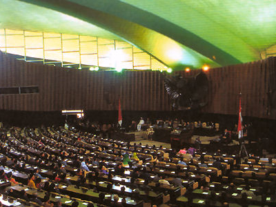 Indonesia  D P R Session