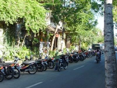 Jalan Hanoman The Main Street In Padangtegal