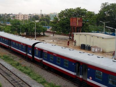 K C G   Miryalguda  D E M U  Passenger Train  0 2