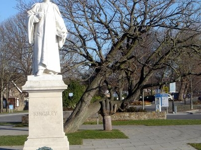 The Charles Kingsley Statue