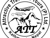 Logo Of Attractive Travels And Tours Nepal