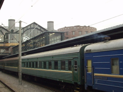 Platforms At The Ladozhsky Station