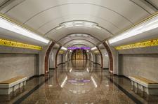 Bukharestskaya Station Hall