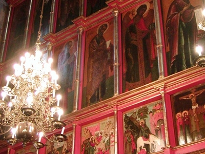 The Interior Is Entirely Covered With Holy Icons