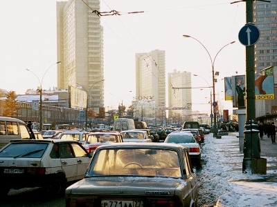New Arbat Avenue In 1999