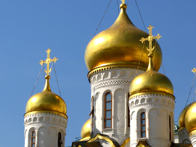 The Gilded Onion Domes