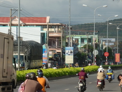 Street In Cam Ranh