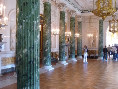 Greek Hall Of Pavlovsk Palace