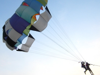 Parasailing At Calangute Beach