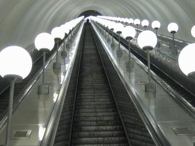 Parkpobedy Escalator