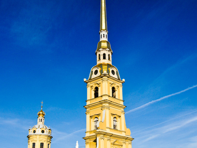 Full View Of Peter And Paul Cathedral