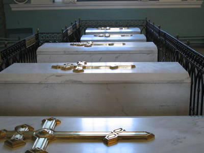 Tombs Inside The Cathedral