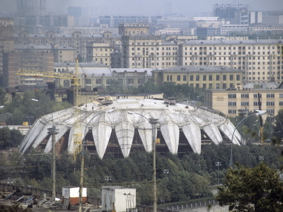 Druzhba Multipurpose Arena Under Construction