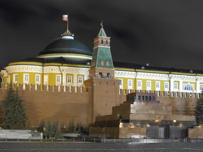 Kremlin Senate At Night