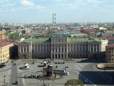 Saint Isaac's Square With Saint Isaac's Cathedral